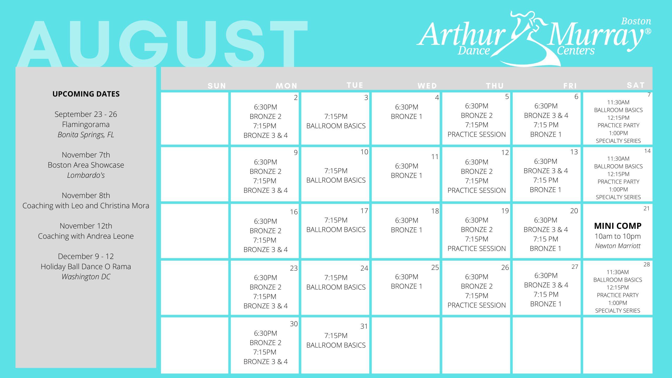 Boston_ August Calendar
